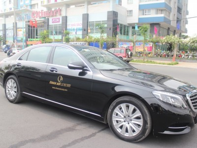 Airport Car Rental Pick Mercedes S500