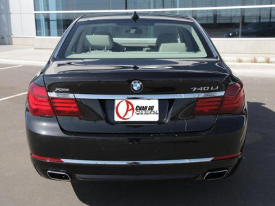 BMW 740 Li Car rental